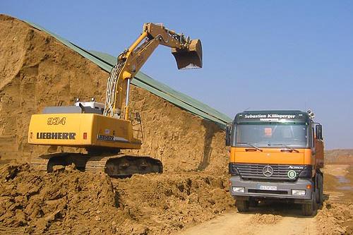 Baustelleneinsatz