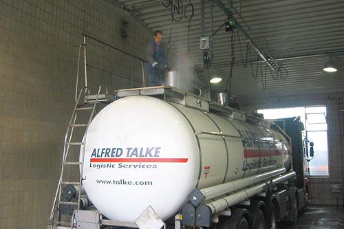 Tankwageninnenreinigung